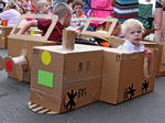 SLIDESHOW: Cardboard drive-in