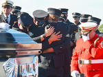 SLIDESHOW: A Hero's Sendoff