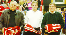 """<div class=""""source"""">Bobby Brockman</div><div class=""""image-desc"""">Taylor County High School regional basketball championship coaches were presented banners that will hang in the Cardinals' gymnasium - Fred Waddle (boys' titles in 1974, 1977, 1980 and 1983), Rollin McQueary (girls' championship in 1977) and Billy B Smith</div><div class=""""buy-pic""""><a href=""""http://web2.lcni5.com/cgi-bin/c2newbuyphoto.cgi?pub=085&orig=01-12%2BWaddleMcQuearySmith.jpg"""" target=""""_new"""">Buy this photo</a></div>"""