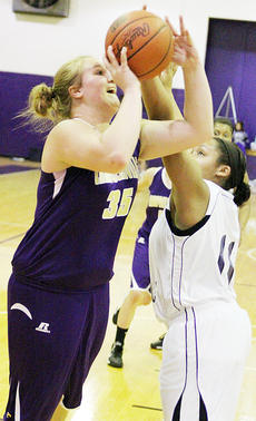 "<div class=""source"">Dennis George</div><div class=""image-desc"">Brenna Wethington shoots over Caverna's Madison Faulkner in the Campbellsville Lady Eagles' first-round loss in the Fifth Region All ""A"" Classic.</div><div class=""buy-pic""><a href=""http://web2.lcni5.com/cgi-bin/c2newbuyphoto.cgi?pub=085&orig=01-23_brennawethington.jpg"" target=""_new"">Buy this photo</a></div>"