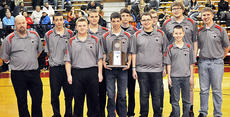 """<div class=""""source"""">Bobby Brockman</div><div class=""""image-desc"""">Taylor County High School's boys' regional championship bowling team, coached by Ben Hamilton, consists of: Tanner Ford, Winston Cook, Jaleen Lyons, Matthew Hedgespeth, McKinley Knopp, Alex Tungate, Matthew Sallee, Michael Lyons, Gavin Shirley, Bailey Marlow, Landon Shively and Eric Rogers. Marlow and Shively are absent from this photo.</div><div class=""""buy-pic""""><a href=""""/photo_select/49875"""">Buy this photo</a></div>"""