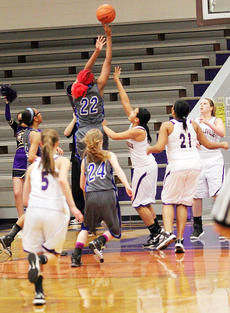 """<div class=""""source"""">Dennis George</div><div class=""""image-desc"""">Washington County senior Jennifer Keene (22) hits a shot in the lane vs. Campbellsville on Monday night. She tallied 18 of her game-high 24 points in the first two quarters and a minute as the Commanderettes overcame a 9-4 deficit to roll past the Lady Eagles 49-25. </div><div class=""""buy-pic""""><a href=""""/photo_select/49998"""">Buy this photo</a></div>"""