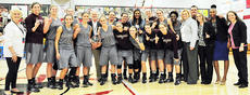 "<div class=""source"">Campbellsville University</div><div class=""image-desc"">Campbellsville University's Lady Tigers will play in their 22nd national tournament when coach Ginger Colvin's squad plays Southern Poly (Ga.) on Wednesday night 8:00 at the NAIA Division 1 Women's Basketball National Championship in Frankfort's Convention Center. The winners advances to Friday afternoon's (2:15) second round against the survivor of the Westmont (Calif.) vs. Xavier (La.) game which will be played at 9:45 on Wednesday night.</div><div class=""buy-pic""></div>"