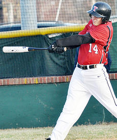 """<div class=""""source"""">Bobby Brockman</div><div class=""""image-desc"""">Hunter McQueary had two hits and was hit by a pitch with two runs batted in Taylor County's 10-0 white-washing of Fort Knox on Thursday night on Shaw Field. The Cardinals posted a 6-4 victory at Bethlehem on Friday for a 3-0 start for Jeff Gumm's team.</div><div class=""""buy-pic""""><a href=""""/photo_select/50853"""">Buy this photo</a></div>"""