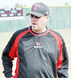 """<div class=""""source"""">Bobby Brockman</div><div class=""""image-desc"""">Jeff Gumm, in his 22nd season as Taylor County High School's head baseball coach, has guided the Cardinals to an 11-0 start. The Cardinals play their next five games on the road before coming home to host Caverna on Friday, April 18 at Shaw Field.</div><div class=""""buy-pic""""><a href=""""http://web2.lcni5.com/cgi-bin/c2newbuyphoto.cgi?pub=085&orig=04-10_jeffgumm.jpg"""" target=""""_new"""">Buy this photo</a></div>"""