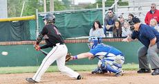 """<div class=""""source"""">Bobby Brockman</div><div class=""""image-desc"""">John Robert Wood hit a double to left field to lead off the sixth inning in Tayloy County's 1-0 triumph vs. Adair County. </div><div class=""""buy-pic""""><a href=""""/photo_select/51839"""">Buy this photo</a></div>"""