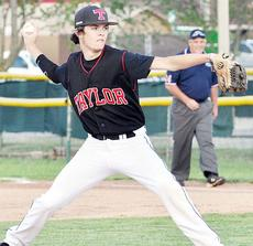 """<div class=""""source"""">Bobby Brockman</div><div class=""""image-desc"""">Tyler Frogge scattered four hits in Taylor County's 1-0 district triumph over Adair County on Shaw Field.</div><div class=""""buy-pic""""><a href=""""/photo_select/51840"""">Buy this photo</a></div>"""