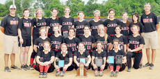 """<div class=""""source"""">Bobby Brockman</div><div class=""""image-desc"""">Taylor County High School's 20th District Softball Tournament champions are, from left, front: seniors Olivia Burton, Karissa Mings, Cheyenne Moran, Becca Orberson and Shelby Carney. Middle: Madison Kirkland, Shelbi Lemmon, Madison Turner, Megan Roberts, MaKayla Sabo, Haley Wright and Reagan Pollock. Back: head coach Neil Sanders, assistant coach Jade Sanders, Kaylee Pogue, Brittany Speer, Hannah Howard, McKayla Stargel, Madison Burress, Kim Davis, Brianna Edrington, assistant coach Kacie Vincent and assistant coach Mark Speer.</div><div class=""""buy-pic""""><a href=""""/photo_select/52174"""">Buy this photo</a></div>"""