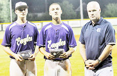 """<div class=""""source"""">Bobby Brockman</div><div class=""""image-desc"""">J.T. Holmes and Zach Durham from Campbellsville, pictured with Central Hardin's Chris Bauer, above, were named to the All-Fifth Region Baseball Tournament team.</div><div class=""""buy-pic""""><a href=""""/photo_select/52471"""">Buy this photo</a></div>"""