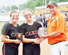 "<div class=""source"">Bobby Brockman</div><div class=""image-desc"">Taylor County sophomores Reagan Pollock and MaKayla Sabo, shown with Hart County's Tim Highbaugh, were tabbed for the All-Fifth Region Softball Tournament squad.</div><div class=""buy-pic""><a href=""/photo_select/52473"">Buy this photo</a></div>"
