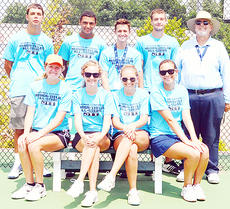 """<div class=""""source""""></div><div class=""""image-desc"""">The Marion-Taylor All Stars are, from left, front: Kassie Miller, Elyssa Holt, Alyssa Farmer and Madison Cassidy. Back: Ryker Cassidy, Aaron Gray, Benjamin Sharpe, Mark Harris and league coordinator Bob Love.</div><div class=""""buy-pic""""></div>"""