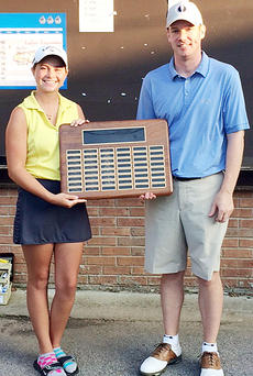 "<div class=""source""></div><div class=""image-desc"">Josh Matney, left, and Kayla Rodgers claimed the men's and women's championships at Campbellsville Country Club Member Tournament over the weekend.</div><div class=""buy-pic""></div>"