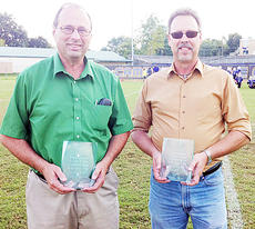 "<div class=""source""></div><div class=""image-desc"">Terry Dooley and Rick Janes saluted for their years of service to the Campbellsville Community Club.</div><div class=""buy-pic""></div>"