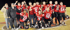 "<div class=""source"">Bobby Brockman</div><div class=""image-desc"">Taylor County High's football seniors and Cardinals' head coach Eric Graves meet on ""The Cardinal"" after TCHS' 33-28 season-ending victory for a 6-4 season. Senior players are Daulton Turpin (5), Josh Gilmer (6), Josh Benningfield (7), Marquis Johnson (14), Jared Peake (31), Cody Bast (40), Dayton Williams (50), Jason Reynolds (54), Tyler Quinn (56), Austin Wise (65), Austin Harris (66) and Jim Collison (70). The student assistant is Ries Ewing and the manager is Travis Hunt. Absent from the photo is Wes Morrison.</div><div class=""buy-pic""><a href=""/photo_select/40912"">Buy this photo</a></div>"