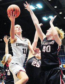 """<div class=""""source""""></div><div class=""""image-desc"""">March 13 — Mary Jehlik, above, and the Campbellsville University Lady Tigers triumph in the opening round of the NAIA Women's Nationals.</div><div class=""""buy-pic""""></div>"""