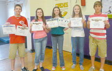 "<div class=""source""></div><div class=""image-desc"">Seventh grade academic award winners are Murphy Lamb, Chloe Benningfield, Blair Lamb, Caroline McMahan and Zach Bottoms.</div><div class=""buy-pic""></div>"