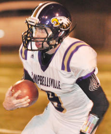 "<div class=""source"">Bobby Brockman</div><div class=""image-desc"">Alex Brunelle runs back a kick-off for a nice gain for Campbellsville at Hazard.</div><div class=""buy-pic""><a href=""/photo_select/33969"">Buy this photo</a></div>"