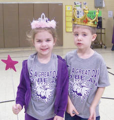 """<div class=""""source""""></div><div class=""""image-desc"""">Karlee Rakel and Blake Tungate from Linda Ward's kindergarten class were recently named the Campbellsville Elementary School Box Top King and Queen. </div><div class=""""buy-pic""""></div>"""