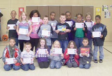 """<div class=""""source""""></div><div class=""""image-desc"""">Campbellsville Elementary School recently announced its Students of the Week. They are, from left, front, Austin Lane, Preston Frost, Gracyne Hash, Kelsey Ferrell, Serenity Tungate and Jaylin Napier. Middle, Samantha Johnson, Garrett Thomas, Justin Swartz, Neveah Douglas and Micah Brodie. Back, Daesean Vancleave, Tynishia Richerson, Braden Paige, Ceondre Barnett and MiKayla Warren.</div><div class=""""buy-pic""""></div>"""