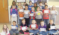 """<div class=""""source""""></div><div class=""""image-desc"""">Campbellsville Elementary School recently named its Students of the Week. From left, front, are Breanna Scott, Enan Hagy, Carly Adams, Ethan Roberts, Nathan Patterson and Dalvian Thornton. Middle, Katilyn Forrest, Dakota Tungate, Kehleigh Vaught, Thomas Lucas, Kalli Howard, Antawn Farrar and Emily Hayden. Back, Betty Pickett, Destiny Tungate, Taylor Knight, John Orberson, Zaria Cowan, Samuel Bell and Braydon Phillips. </div><div class=""""buy-pic""""></div>"""