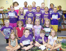 """<div class=""""source""""></div><div class=""""image-desc"""">Campbellsville Elementary School recently named its Students of the Week. They are, front, from left, Aryanna Britton, Miles Wright, Andrew Mardis and Riley Petett. Second row, Levi Key, MacKenzie Negron, CheyAnn Edwards, Brianna Lyons and Chloe Mitchell. Third row, Haley Stapleton, Lily Lobb, Carly Adams, Laci Hodgens, Monte Orvis and Noah Wilson. Back, Tynishia Richerson, Saevon Buckner, Kenzi Forbis, Noah Mardis, Brandon Pittman and Micah Brodie. </div><div class=""""buy-pic""""></div>"""