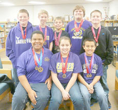 "<div class=""source""></div><div class=""image-desc"">Campbellsville Middle School's sixth-grade academic team competed in a showcase at Metcalfe County Middle School on Dec. 1 and won 10 medals, a second-place finish in quick recall and won second place overall.</div><div class=""buy-pic""></div>"