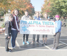 """<div class=""""source""""></div><div class=""""image-desc"""">From left are coordinators Jacqueline Nelson and Kaity Skaggs, top five finisher Matthew Eppers, first place male finisher Lucas Pepper, first place female finisher Mary Jefferson and Kelly Hill, a member of CU's Phi Alpha Theta.</div><div class=""""buy-pic""""></div>"""