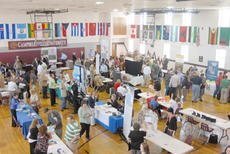 "<div class=""source"">Calen McKinney</div><div class=""image-desc"">Campbellsville University's Student Activities Center was crowded Wednesday afternoon with students and community members in search of a job at the university's annual career fair.</div><div class=""buy-pic""><a href=""http://web2.lcni5.com/cgi-bin/c2newbuyphoto.cgi?pub=085&orig=Career%2BFair%2B3.jpg"" target=""_new"">Buy this photo</a></div>"