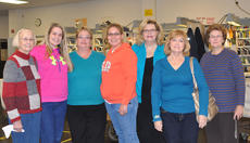 "<div class=""source"">Leslie Moore</div><div class=""image-desc"">Several friends and family members were present to honor United States Postal Service sales service associate Terri Chandler's retirement. Pictured, from left, are Chandler's mother, Martha McCubbin, daughter Laura Chandler, Chandler, daughter Lindsay Rae Chandler, friend Kathy Milby and retired post office employees Phyllis Moore and Wanda Perkins. </div><div class=""buy-pic""><a href=""/photo_select/42545"">Buy this photo</a></div>"