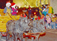 """<div class=""""source"""">Calen McKinney</div><div class=""""image-desc"""">Residents ride atop animals to wrap up this year's parade.</div><div class=""""buy-pic""""><a href=""""/photo_select/41661"""">Buy this photo</a></div>"""