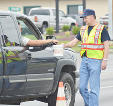 "<div class=""source"">Calen McKinney</div><div class=""image-desc"">Taylor County Fire & Rescue volunteer fire fighter Harold Dobson Jr. collects donations on Saturday afternoon.</div><div class=""buy-pic""><a href=""http://web2.lcni5.com/cgi-bin/c2newbuyphoto.cgi?pub=085&orig=Crusade%2B1_0.jpg"" target=""_new"">Buy this photo</a></div>"