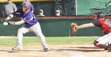 """<div class=""""source"""">Bobby Brockman</div><div class=""""image-desc"""">Julian Pierce lays down a first-inning bunt for Campbellsville in the Eagles' setback to Taylor County on Shaw Field.</div><div class=""""buy-pic""""><a href=""""/photo_select/43811"""">Buy this photo</a></div>"""