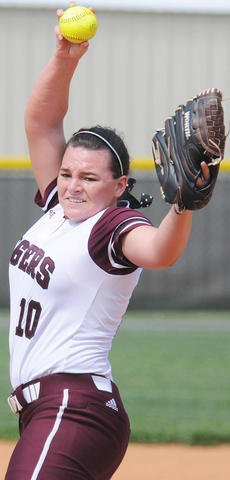 "<div class=""source"">Richard RoBards</div><div class=""image-desc"">Lawrenceburg sophomore Courtney Turpin got the win in both games of Campbellsville University's softball sweep of No. 14 Lindsey Wilson College.</div><div class=""buy-pic""></div>"