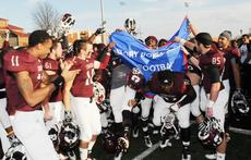 "<div class=""source"">Richard RoBards</div><div class=""image-desc"">Campbellsville University celebrates its seventh football victory after the Victory Bowl triumph over Greenville (Ill.) College.</div><div class=""buy-pic""></div>"