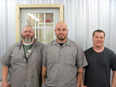 "<div class=""source""></div><div class=""image-desc"">Pictured are, from left, Daniel Bishop, Disco's owner Matthew Rodgers, and Zach Gilbert.</div><div class=""buy-pic""></div>"