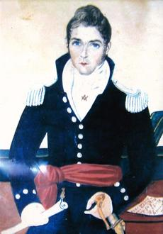 """<div class=""""source""""></div><div class=""""image-desc"""">This image depicts Dr. Thomas Hollinger Gaines, a Taylor County soldier who served in the War of 1812.</div><div class=""""buy-pic""""></div>"""