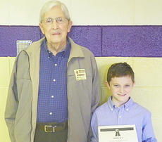 """<div class=""""source""""></div><div class=""""image-desc"""">Bryce Richardson was selected as the Campbellsville Independent Schools winner. He is pictured with the subject of his essay, his grandfather William Warren Richardson.</div><div class=""""buy-pic""""></div>"""