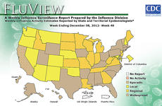 """<div class=""""source"""">Centers for Disease Control</div><div class=""""image-desc"""">Kentucky Department for Public Health officials reported last week that flu activity in Kentucky has increased from """"regional"""" to """"widespread.""""</div><div class=""""buy-pic""""></div>"""