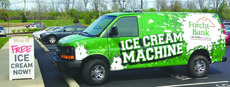 "<div class=""source""></div><div class=""image-desc"">Forcht Bank recently introduced its ""Ice Cream Machine,"" a van that will bring free ice cream to community events in various Kentucky cities throughout the summer.</div><div class=""buy-pic""></div>"