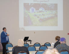 """<div class=""""source"""">Calen McKinney</div><div class=""""image-desc"""">Dr. Rick Durham, a horticulture specialist with the University of Kentucky, presented a gardening class at the Taylor County Extension Office on Tuesday, April 24.</div><div class=""""buy-pic""""><a href=""""http://web2.lcni5.com/cgi-bin/c2newbuyphoto.cgi?pub=085&orig=Gardening%2BClass%2B1.jpg"""" target=""""_new"""">Buy this photo</a></div>"""