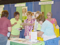 """<div class=""""source"""">Calen McKinney</div><div class=""""image-desc"""">Nearly 1,300 people attended Saturday's health fair sponsored by Taylor Regional Hospital. The health fair offered complete blood count and comprehensive  metabolic, thyroid stimulating hormone and coronary risk profiles, as well as several booths with information from local medical organizations.</div><div class=""""buy-pic""""><a href=""""/photo_select/38607"""">Buy this photo</a></div>"""