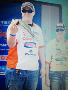 """<div class=""""source""""></div><div class=""""image-desc"""">Elliott Davis and Jill Hale placed 12th on Lake Cumberland on April 7. The four Taylor County anglers will compete in the first Kentucky State High School Tournament on April 27-28 at Kentucky Lake.</div><div class=""""buy-pic""""></div>"""
