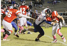 """<div class=""""source"""">Dennis George</div><div class=""""image-desc"""">Blake Dudgeon carries for one of the Cardinals' 10 first downs in their last district encounter. TCHS hosts Barren County this Friday.</div><div class=""""buy-pic""""><a href=""""http://web2.lcni5.com/cgi-bin/c2newbuyphoto.cgi?pub=085&orig=IMG_1781.jpg"""" target=""""_new"""">Buy this photo</a></div>"""