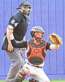"<div class=""source"">Jesse Carter</div><div class=""image-desc"">Blake Caulk singled in Taylor County's fourth run vs. Campbellsville.</div><div class=""buy-pic""></div>"