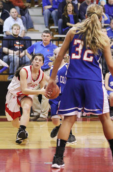 "<div class=""source"">Dennis George</div><div class=""image-desc"">Haley Wright had a second-best team total of 16 points for Taylor County in the Lady Cardinals' 67-50 season-ending setback to Adair County in the 20th District Tournament.</div><div class=""buy-pic""><a href=""/photo_select/35862"">Buy this photo</a></div>"