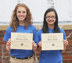 """<div class=""""source""""></div><div class=""""image-desc"""">Madison Lauer, at left, daughter of Brad and Jennifer Lauer, and Rylen Smith, daughter of Barry and Kim Smith of Campbellsville, attended the Rogers Explorer program at the University of the Cumberlands on June 5-7.</div><div class=""""buy-pic""""></div>"""