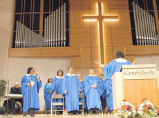 "<div class=""source"">Calen McKinney</div><div class=""image-desc"">Pleasant Union Baptist Church Choir performed at Sunday's annual Dr. Martin Luther King Jr. memorial worship service.</div><div class=""buy-pic""><a href=""/photo_select/35122"">Buy this photo</a></div>"