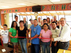 """<div class=""""source"""">Patrick Keefe</div><div class=""""image-desc"""">Pancho's Mexican Restaurant celebrated becoming a member of the Campbellsville/Taylor County Chamber of Commerce with a ribbon cutting ceremony on Tuesday.</div><div class=""""buy-pic""""><a href=""""/photo_select/30720"""">Buy this photo</a></div>"""