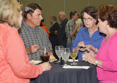 """<div class=""""source"""">Calen McKinney</div><div class=""""image-desc"""">Many Taylor County residents attended the reception. From left are Pam Tennant, Gary Seaborne, Ann Beard and Jeannie Seaborne.</div><div class=""""buy-pic""""><a href=""""/photo_select/46526"""">Buy this photo</a></div>"""
