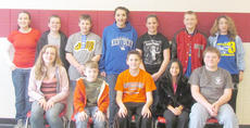 "<div class=""source""></div><div class=""image-desc"">Several Taylor County students participated in the finals of the 4-H Talk Meet. Front, from left, are Christina Hayden, Joshua Martin, Benjamin Bertram, Lydia Bell and Bailey Marlow. Back, Hayley Watson, Weston Young, Kameron Hughes, Rachel Myers, Kailey Thompson, Matthew Magness and Morgan Magness. </div><div class=""buy-pic""></div>"